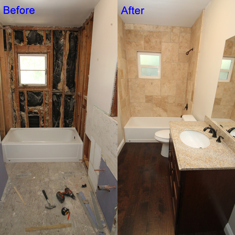 Floor Installation And Restoration Flooring In Santa Clarita - Bathroom remodel santa clarita