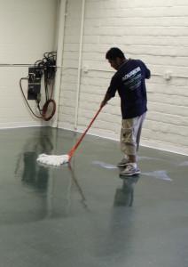 Concrete Cleaning by Aquakor in Santa Clarita