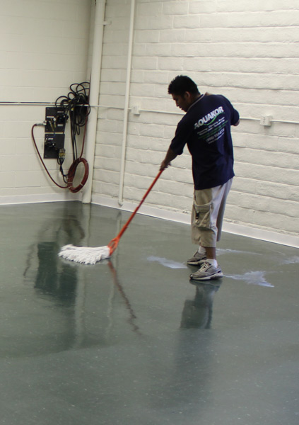 Concrete Cleaning Flooring In Santa Clarita