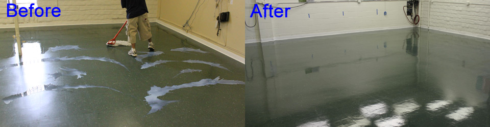 Concrete Cleaning by Aquakor in Santa Clarita