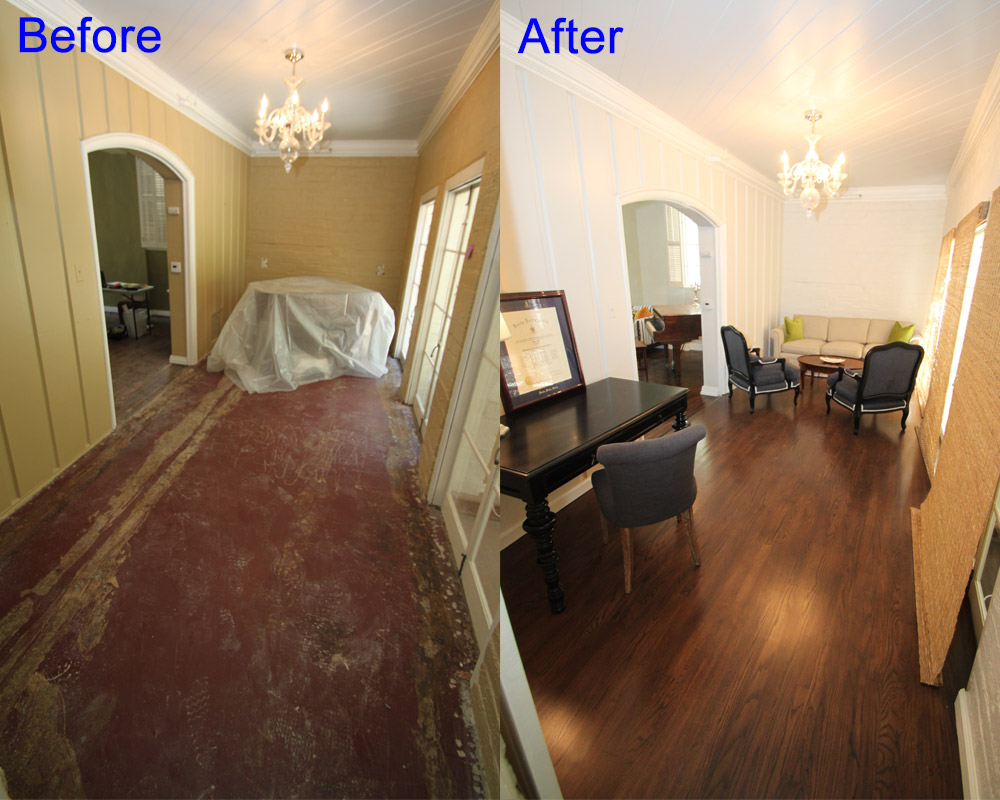Hallway Restore by Aquakor in Santa Clarita