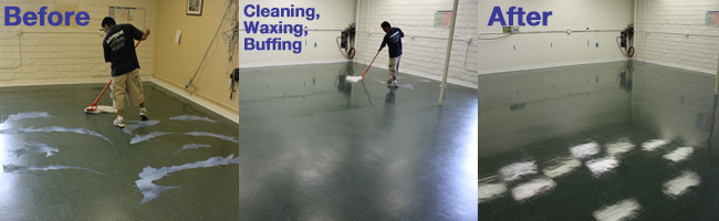 Success Story - VCT Cleaning by Aquakor in Santa Clarita