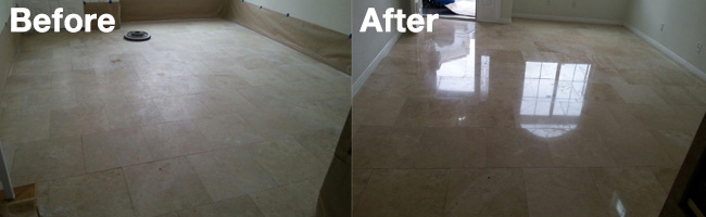 Success Story - Stone Cleaning and Polishing by Aquakor in Santa Clarita