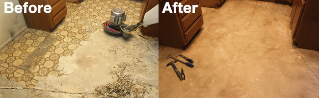 Success Story - Vinyl Removal by Aquakor in Santa Clarita