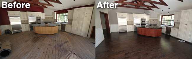Success Story - Hardwood Installation by Aquakor in Santa Clarita